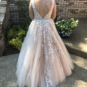 Sherri hill ball gown